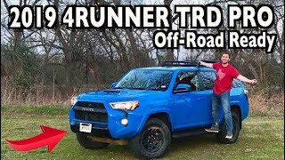 Voodoo Blue: 2019 Toyota 4Runner TRD Pro on Everyman Driver