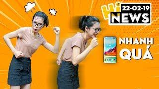 """Galaxy S10+: Smartphone """"khoẻ"""" nhất, lộ diện thiết kế Huawei P30 I Hinews"""