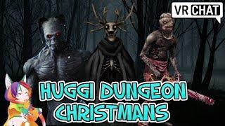 [VRChat] Huggi Dungeon Christmas Horror Map!