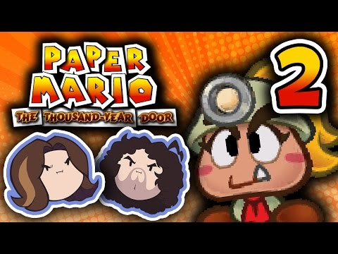Paper Mario TTYD: Contact Lens - PART 2 - Game Grumps