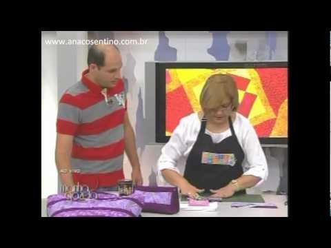 Patchwork Ana Cosentino: Barrado em Seminole (Ateliê na TV/Manhã GAZETA)
