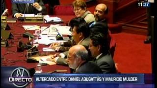 """Abugattás llama """"payaso"""" y """"animal"""" a Mulder en plena sesión de Congreso"""