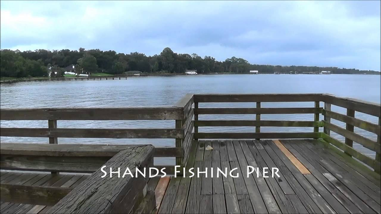 Shands fishing pier st johns river youtube for St augustine fishing pier