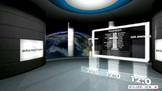 Brainstorm Virtual Demo at NAB Show 2011 - Las Vegas, USA