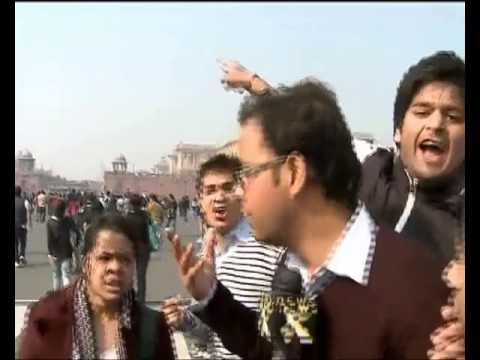 Delhi Protest Over Rape