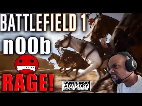 BF1 RAGE! NOOB TRIES TO MAKE BATTLEFIELD 1 TOP KILLS OF THE WEEK! LOL