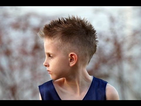 HOW TO CUT A Boy s Mohawk / Fohawk Hair CUT Tutorial Fauxhawk