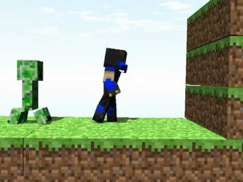 Minecraft Animation: Subzero vs Creeper Music Videos