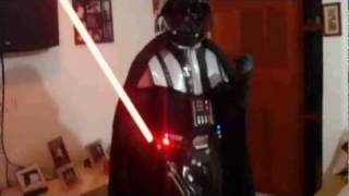Roupa customizada do Darth Vader