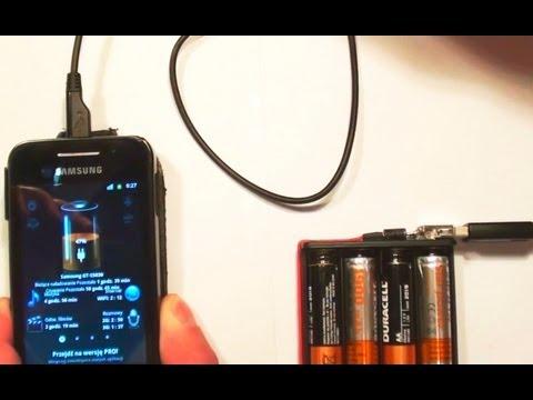 Jak Zrobić Przenośną Ładowarkę Do Telefonu / How To Make Portable USB Charger