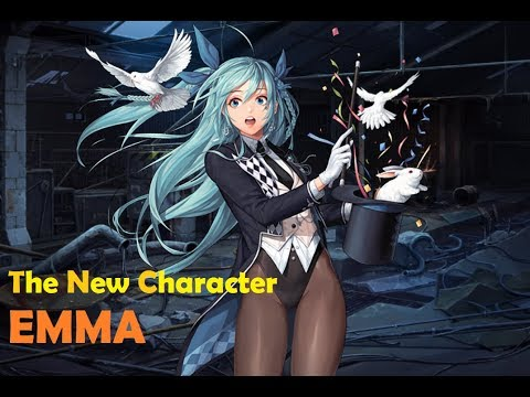 [Black survival] 템 나와라 얍! 신캐 던지기 엠마! (Come out Items, Yup! New Character Thrown Emma!)