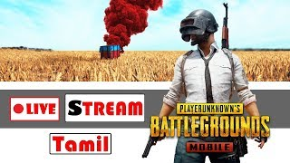 PUBG MOBILE 🔴 LIVE STREAM in Tamil | Start up 5k tournament by EXE TEAM