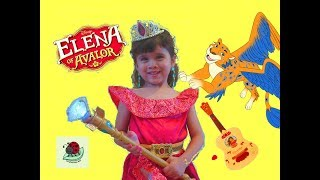 Princess in Real Life #2 | Elena of Avalor Magic Makeover | itsplaytime612