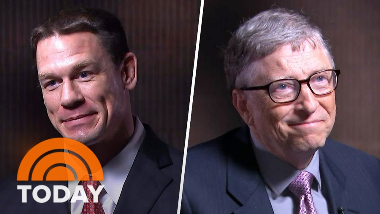 John Cena Teams Up With Bill Gates On Global Anti-Polio Campaign 'Rotary' | TODAY
