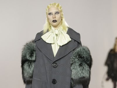 Gaga Walks the Runway for Marc Jacobs