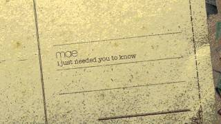 Watch Mae I Just Needed You To Know video