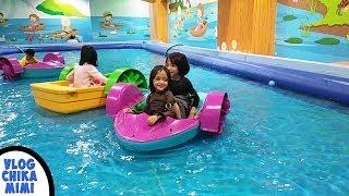 Main Di Taman Bermain Anak Funland Cocoland Perosotan Sepeda Air Mandi Bola Odong Odong ChikaMimiHD