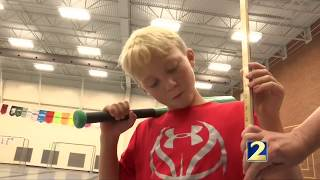 School uses baseball to teach math