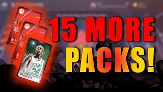 TWO 97+ PULLS! 15 CORNUCOPIA PACKS OPENING! PAUL PIERCE CAREER TRIBUTE PACK! NBA LIVE MOBILE!