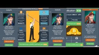 f🔔ree btc cryptomininggame mining level 17 to Miner Level 18 Crystals 20908