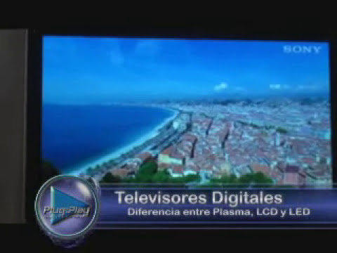 Plug and Play: Televisores Digitales y Alta Definición
