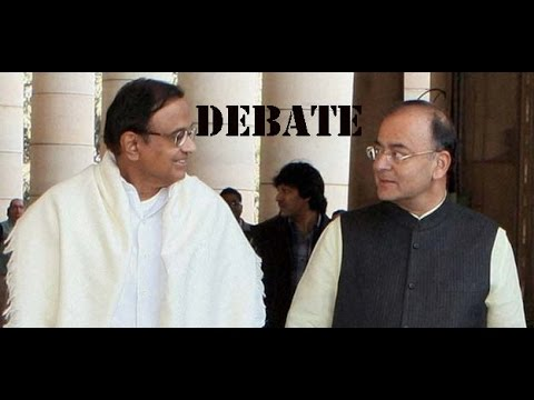 HLT Special: Jaitley Vs Chidambaram Debate: The great face-off (Part 1)
