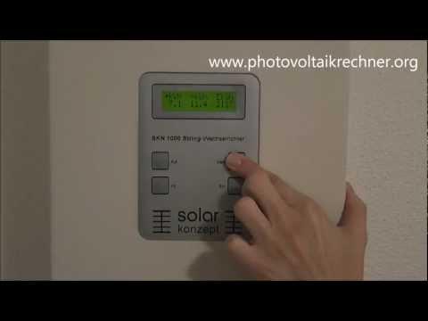 Wechselrichter meiner Photovoltaikanlage