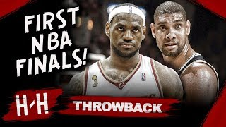 Throwback: LeBron James FIRST NBA Finals! Full Series Highlights vs San Antonio Spurs | 2007 Finals