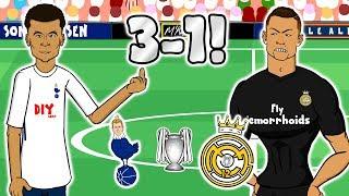 SPURS BEAT REAL MADRIDChampions League 2017 Tottenham vs Real Madrid 3-1