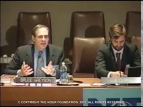 Выступление в ООН Д-р Брюс Грейсона Сознание Без активности мозга