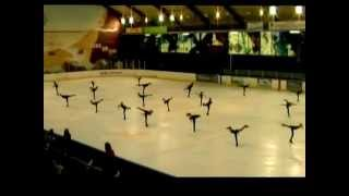 Видео Аньер-сюр-Сена: Война и мир-Ballet on ice «Penguins» NOVICE СE. Coupe Internationalle d'Asnieres 2012 (автор: Ballet Penguins)