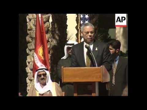 KUWAIT: 10TH ANNIVERSARY OF LIBERATION: CELEBRATIONS