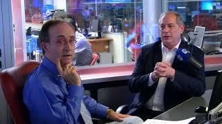 Reinaldo Azevedo entrevista o candidato à presidência da República pelo PDT, Ciro Gomes