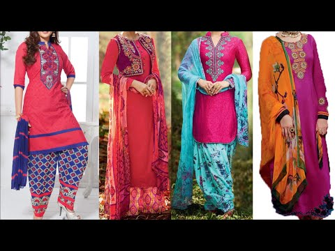 Patiala Salwar Suit Design Images / Photos For Girls/Women | New Fashion Dress Design 2018