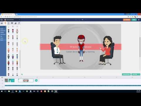 Como crear un video animado con la herramienta Goanimate