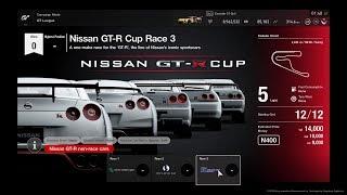 Gran Turismo™SPORT GT League Nissan GT-R Cup Race 3 Onboard