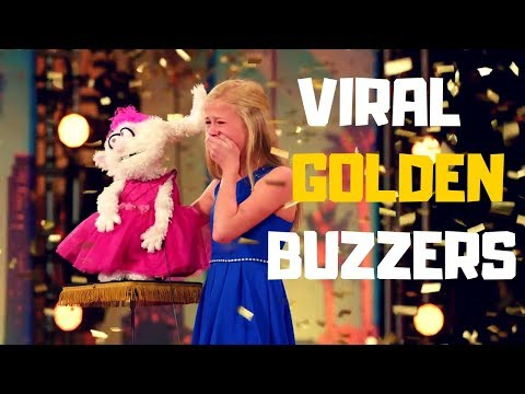 """Top 5 VIRAL """"GOLDEN BUZZERS"""" AUDITIONS EVER ON America's Got Talent 2017 - 2018!"""