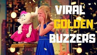 "Top 5 VIRAL ""GOLDEN BUZZERS"" AUDITIONS EVER ON America's Got Talent 2017 - 2018!"