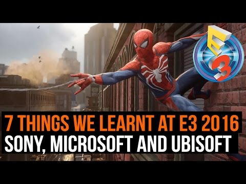 7 things we learnt at E3 - Sony, Microsoft and Ubisoft