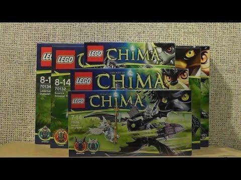 NOWOŚCI STYCZEŃ 2014 LEGO CHIMA