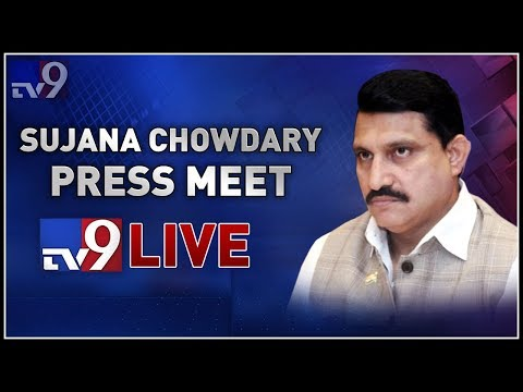 TDP Sujana Chowdary Press Meet LIVE - TV9