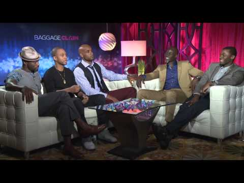 Baggage Claim Interviews (taye Diggs, Terrence Jenkins, Boris Kodjoe, Djimon Hounsou, & Derek Luke) video