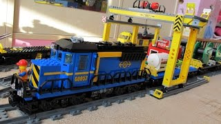 NEW! LEGO City 60052 Cargo Train Review