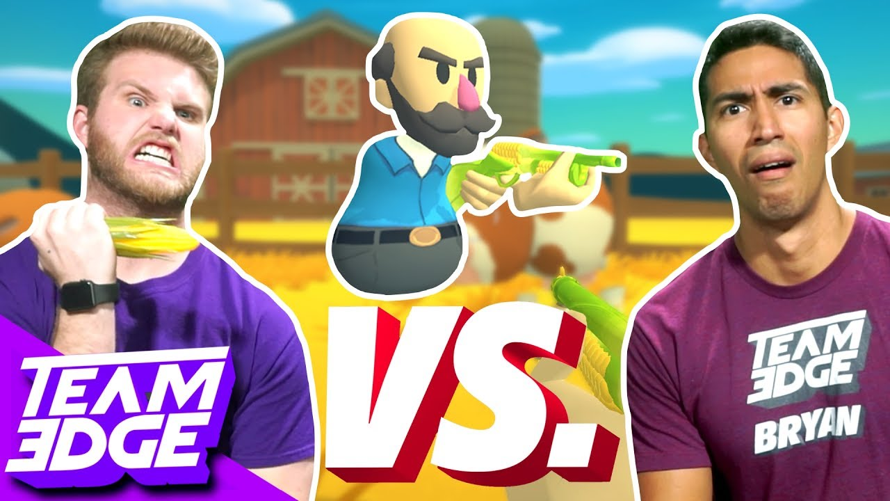 Vegetable Weapon Challenge! | Shotgun Farmers