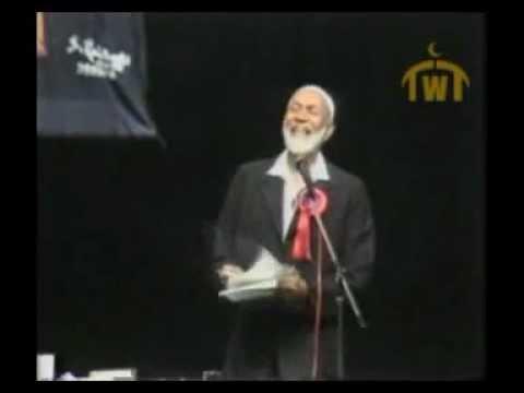 Ahmed Deedat: Debate Quran Or The Bible Shorrosh video