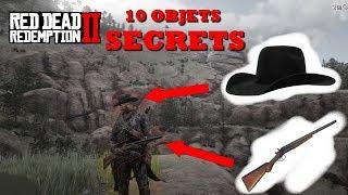 10 Objets SECRETS sur Red Dead Redemption 2 !