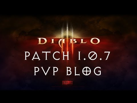 Diablo 3 Patch 1.0.7 - PvP Blog in Review (Upcoming PTR)