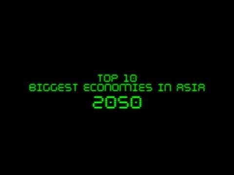 FUTURE: Top 10 Biggest Economies in Asia in 2050
