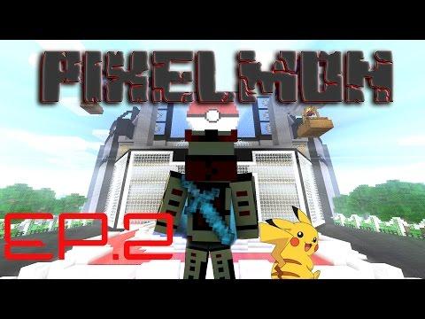 Pixelmon | La aventura del noob | Ep. 2 Mi primer pokemon atrapado