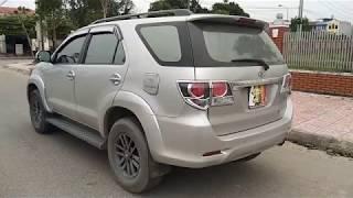 Review   Toyota Fortuner 2015 Cũ Bản V Tuyệt Đẹp    Chỉ Với 5XX Củ Đã có SUV 7 Chỗ Quá Ngon !!!